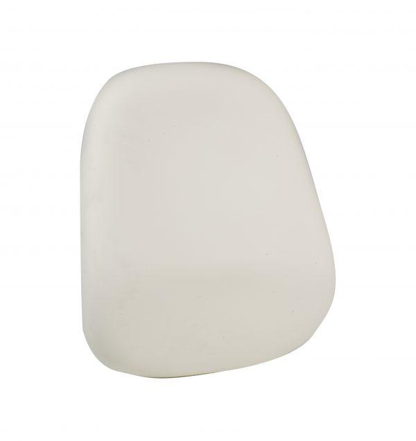 pu high back foam chair component